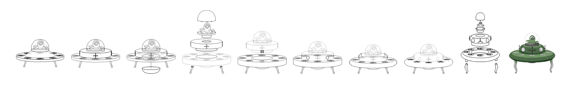 Development of UFO toy