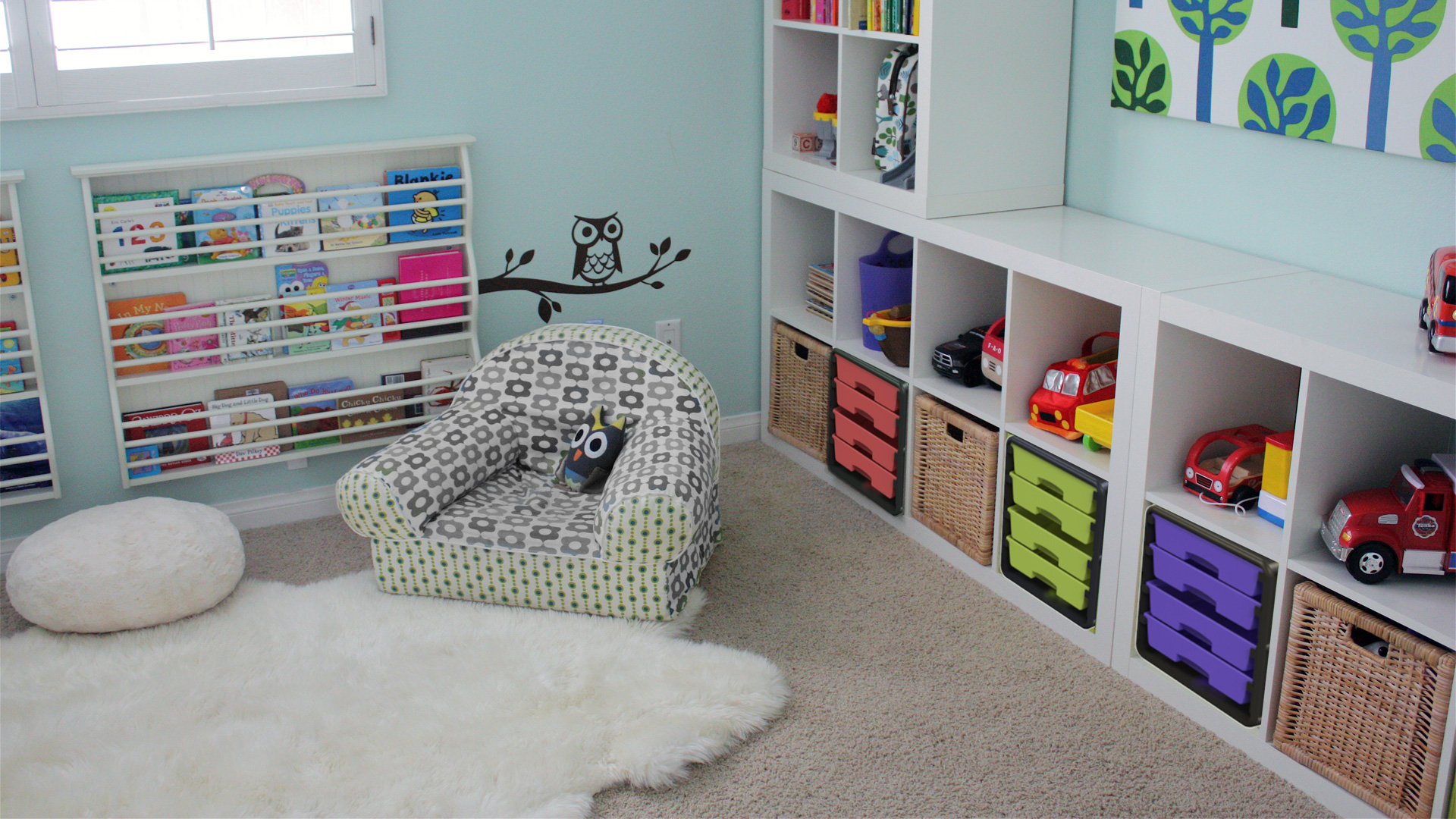 Blox storage in nursery
