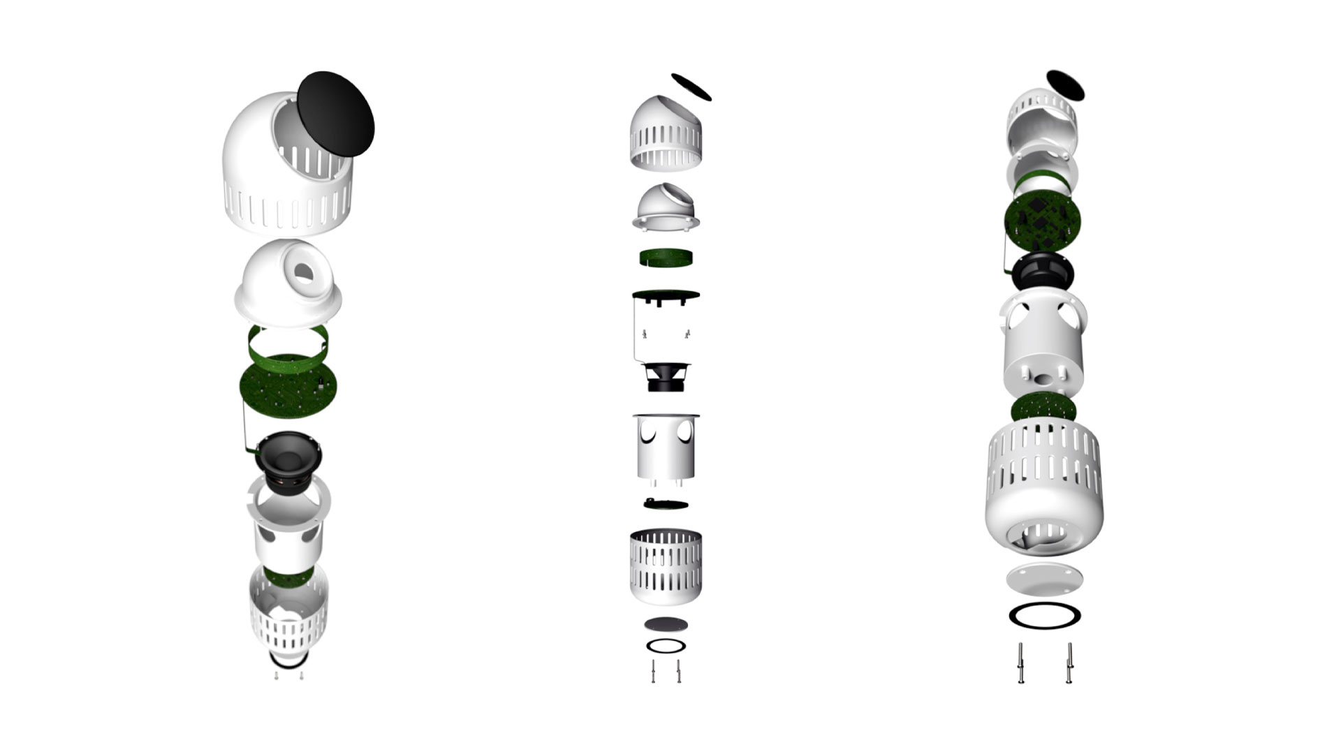 Gloo CAD exploded view