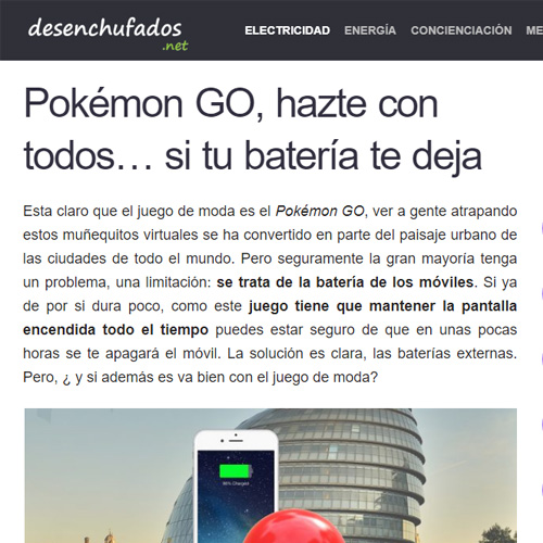 Pokeball Charger Desenchufados